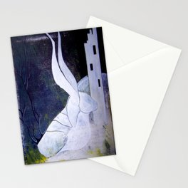 guard to the ivory tower Stationery Cards