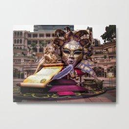 Shakespeare in Hong Kong Metal Print