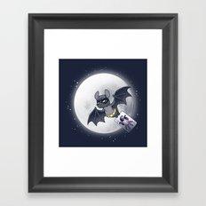 Bat Bat Framed Art Print