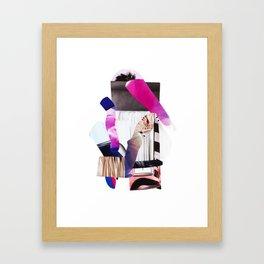 Purple Levels Framed Art Print