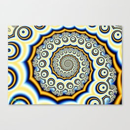Spiral trig tree Canvas Print