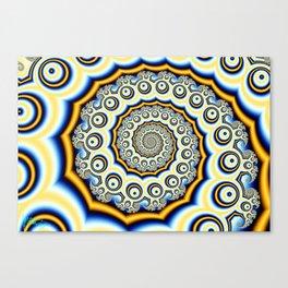 Spiral trig tree Canvas Print