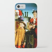 pennywise iPhone & iPod Cases featuring PENNYWISE IN MARY POPPINS by Luigi Tarini