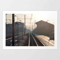 The Blurry Memory Of Leaving Home Art Print
