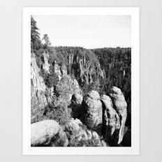 Sächsische Schweiz Art Print
