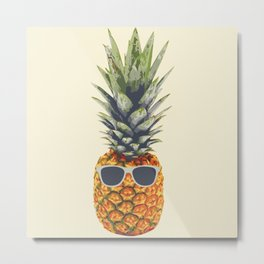Pineapple aka Agent Ananas Metal Print