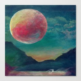 On The Nature Of Moonlight Canvas Print