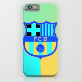 barcelona Sport Football Spain red blue team iPhone Case