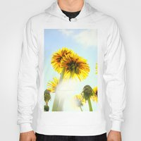 dandelion Hoodies featuring Dandelion by Falko Follert Art-FF77