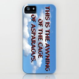 Cage of Asparagus iPhone Case