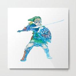 The Legend of Zelda Skyward Sword - Link Metal Print