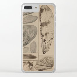 Wings In Nature Clear iPhone Case