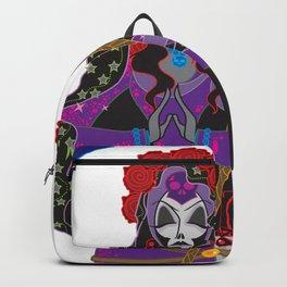 Santa Muerte Backpack