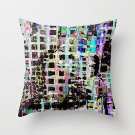 Crazed Neighbourhood Throw Pillow