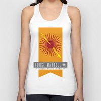 martell Tank Tops featuring House Martell Sigil by P3RF3KT