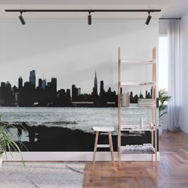 NYC Skyline View Wall Mural