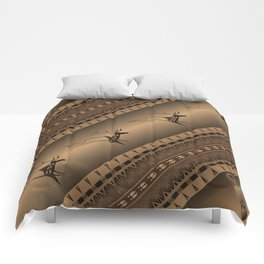 Elk Spirit (Brown) Comforters