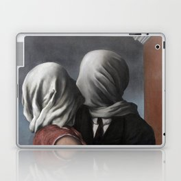 The Lovers II (Les Amants) 1928, Artwork Rene Magritte For Prints, Posters, Shirts, Bags Men Women K Laptop & iPad Skin
