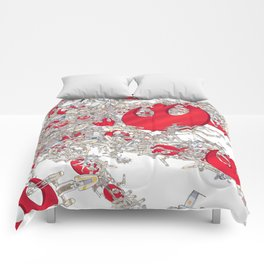 Rebel Fighters Comforters