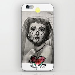 celeste holm the pretty babe iPhone & iPod Skin