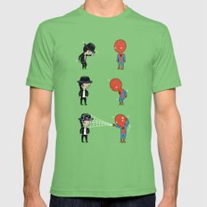 Dance off Mens Fitted Tee X-LARGE Grass