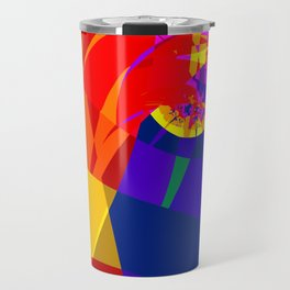 fractal composition N1 Travel Mug