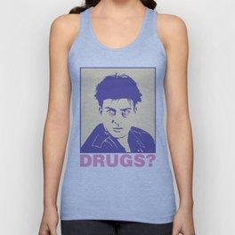 DRUGS? Unisex Tank Top