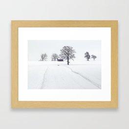 Winter Scene Framed Art Print