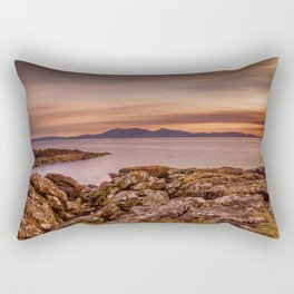 Arran Sunset Rectangular Pillow