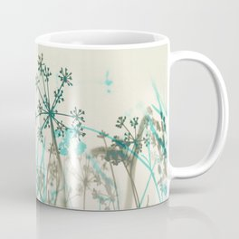Abstract Botanical Coffee Mug