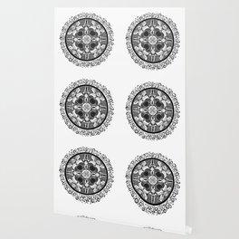 Royal Ball Mandala at Midnight Wallpaper