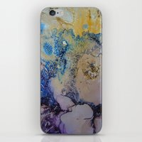 exo iPhone & iPod Skins featuring Exo - Birth Series II by Melina Green