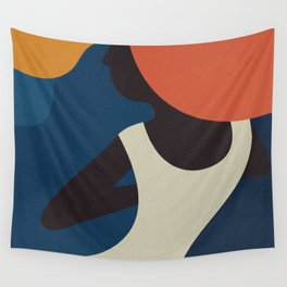 The Dancing Woman Wall Tapestry