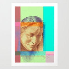 Margriet 04 Art Print