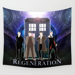 The Doctor Of Regeneration Wall Tapestry