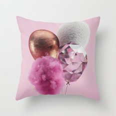 Baloons #4 Throw Pillow