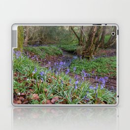 Bluebells by the Brook Laptop & iPad Skin