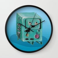 video games Wall Clocks featuring Wo Wants to Play Video Games? by Kristin Frenzel