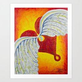 Love is Taking Flight Art Print