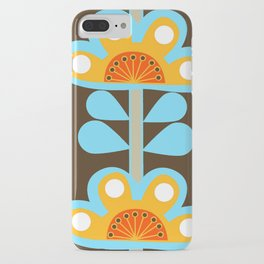 swedish flowers iPhone Case
