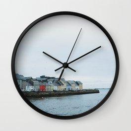 Galway, Ireland Long Walk Wall Clock