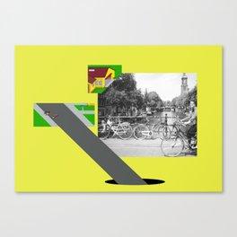 Mekleptein Canvas Print