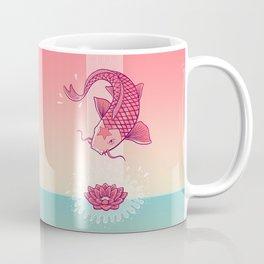 Perseverance // Koi & Lotus Coffee Mug