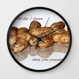 All day I dream Wall Clock