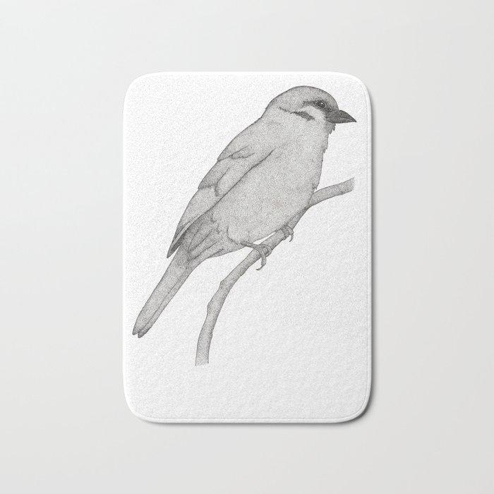 A Bird named Johan Bath Mat