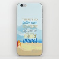 lilo and stitch iPhone & iPod Skins featuring choice waves.. lilo and stitch by studiomarshallarts