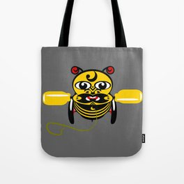 Hei Tiki Bee Toy Tote Bag