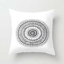 Unalome Madness Throw Pillow