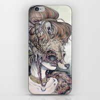 scary iPhone & iPod Skins featuring Vulpes Masquerade, now as a print! by Caitlin Hackett