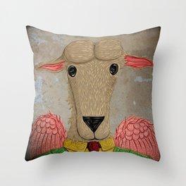 Micalef Sheep Throw Pillow